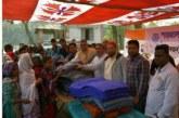 দোহারে ইসলামী শাহজালাল ব্যাংকের কম্বল বিতরন