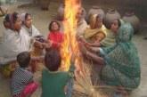 শীতের দাপটে অসহায় তাড়াইলের  ছিন্নমূল মানুষ