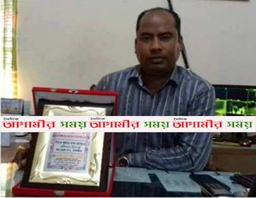 কলারোয়া থানার ওসি বিপ্লব দেবনাথ মহাত্মা গান্ধী স্বর্ণ পদকে ভূষিত