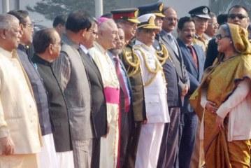 সিঙ্গাপুরে পৌঁছেছেন প্রধানমন্ত্রী শেখ হাসিনা