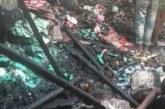 চান্দহর বাজারে আগুন লেগে প্রায় ১৫ লক্ষ টাকার মালামাল পুড়ে ছাই