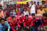 """কলাপাড়ায় """"ফ্রেন্ডস অফ ব্লাড"""" কতৃক আয়োজিত ক্রিকেট টূর্নামেন্ট ২০১৮ ইং এর ফাইনাল খেলা সম্পন্ন"""