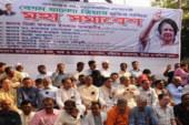 চট্টগ্রামে চলছে বিএনপির মহাসমাবেশ