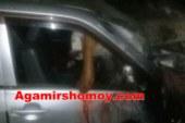 দোহার-গালিমপুর সংযোগ সড়কে মর্মান্তিক সড়ক দূর্ঘটনায় | হাত কাটা পড়লো ড্রাইভারের