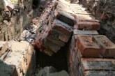 ময়মনসিংহের ফুলপুর পৌরসভায় ড্রেন নির্মাণের একদিন পরেই ধসে পড়লো