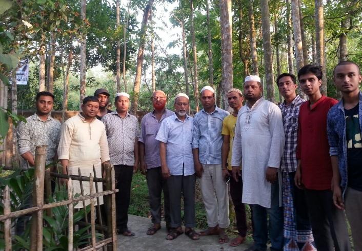 জগন্নাথপুরে শহীদ হাফিজের কবর জিয়ারত করেছেন বিএনপি,যুবদল ও ছাত্রদল নেতৃবৃন্দ