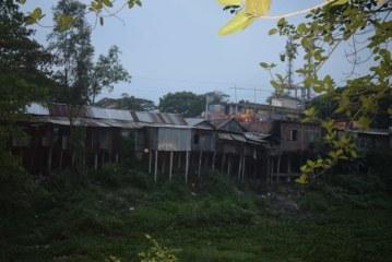 ইছামতি নদী দখল করে পাচঁশতাধিক দোকানঘর নির্মান।নাকাল এলাকাবাসী
