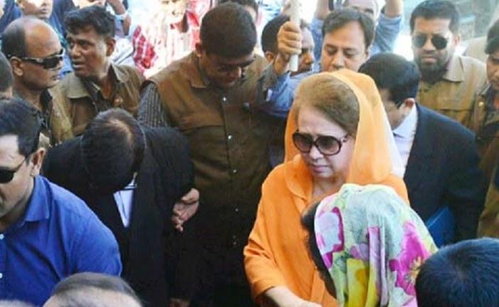 খালেদার তিন মামলায় জামিনের শুনানি সোমবারও