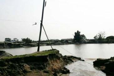 কোম্পানীগঞ্জের পাথর খেকোদের  আগ্রাসনে  সঞ্চালাইনসহ ঝুঁকিতে পল্লী  বিদ্যুতের খুটি
