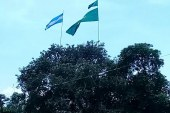 দোহার নবাবগঞ্জে উড়ছে বিশ্বকাপের পতাকা