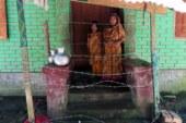 শরণখোলায় ছাত্রলীগ নেতার দেয়া কাঁটা তারের ঘেরায় অবরুদ্ধ প্রবাসীর পরিবার