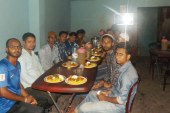 জগন্নাথপুরে আদর্শ ছাত্র কল্যাণ পরিষদের ইফতার মাহফিল সম্পন্ন