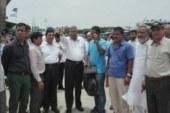 চাঁদপুরে নির্মাণাধিন আধুনিক নৌ-টার্মিনাল পরিদর্শনে বিশ্বব্যাংক প্রতিনিধিদল