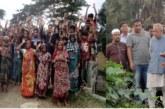 কচুয়ায় ব্রীজের নির্মান কাজ বন্ধের পায়ঁতারা নিয়মানুসারে ব্রীজ নির্মানের  দাবীতে  এলাকাবাসীর প্রতিবাদ ও বিক্ষোভ  মিছিল