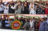 যুবলীগ নেতা শহীদ মাহ্মুদুর রহমান পলাশের কবরস্থানে পুস্পস্তবক ও দোয়া