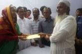 চাঁদপুর পালবাজারে ক্ষতিগ্রস্থ ব্যবসায়ীদের মাঝে সহায়তা প্রদান