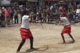ঝিনাইদহে অনুষ্ঠিত হলো গ্রাম-বাংলার ঐতিহ্যবাহী লাঠিখেলা