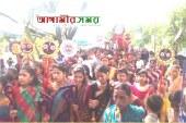 জগন্নাথপুরে উৎসব মূখর পরিবেশে রথযাত্রা