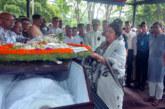 গোলাম সারওয়ারের মরদেহে স্পিকারের শ্রদ্ধা