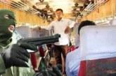 বাড়ীর গৃহকর্তাকে কুপিয়ে জখম নবীগঞ্জে ডাকাতিকালে ৫ ডাকাত আটক