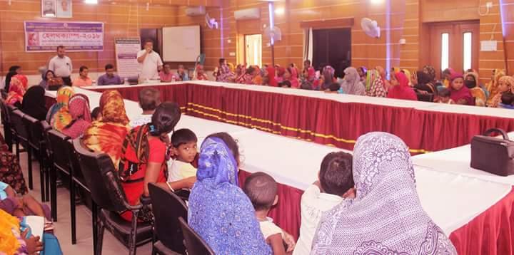 গোপালপুরে মা ও শিশু'র স্বাস্থ্য পরীক্ষায় হেলথক্যাম্প অনুষ্ঠিত