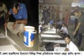 নওগাঁ জেলা ছাত্রলীগের উদ্যোগে শিক্ষা প্রতিষ্ঠানের সামনে জেব্রা ক্রসিং স্থাপন
