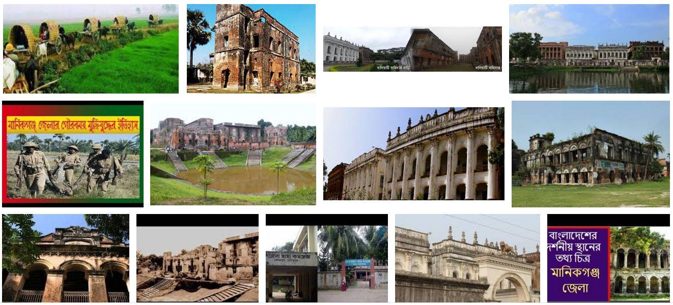 মানিকগঞ্জ জেলার ইতিহাস