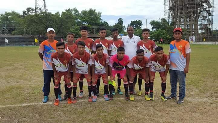বঙ্গবন্ধু গোল্ডকাপ ফুটবল (অনূর্ধ্ব- ১৭) টুর্নামেন্টে ছাতককে হারিয়ে জগন্নাথপুর ফাইনালে