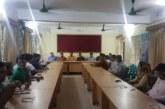 জগন্নাথপুরের রানীগঞ্জ ইউনিয়নে দিনব্যাপি মাসিক সভা অনুষ্টিত