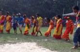 মহাদেবপুরে ক্ষুদ্র নৃ-গোষ্ঠীর বর্ণাঢ্য কারাম উৎসব উদযাপন