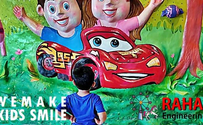 আন্তর্জাতিক মানের থিম পার্ক রাইড তৈরি করছে রাহা ইঞ্জিনিয়ারিং ওয়ার্কশপ