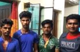 জগন্নাথপুরে মোটর সাইকেল উদ্ধার সহ তিন চোর গ্রেফতার
