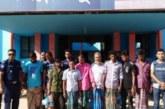 জগন্নাথপুরে ৮ জনকে গ্রেফতার করেছে থানা পুলিশ