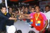 নবাবগঞ্জে প্রীতি ফুটবল ম্যাচ