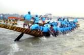 খুলনার রূপসা নদীতে ঐতিহ্যবাহী নৌকা বাইচ অনুষ্ঠিত