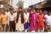নওগাঁয় মরহুম নেতা জলিল পুত্র জনের নৌকায় ভোট চেয়ে বিশাল শোডাউন