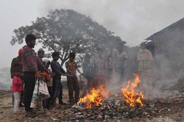 সর্বনিম্ন তাপমাত্রা রাজশাহীতে, শীতে কাঁপছে ছিন্নমূল মানুষ