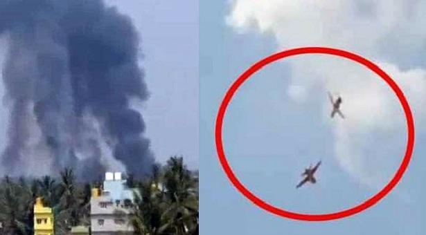 দুই ভারতীয় যুদ্ধবিমান বিধ্বস্ত, পাইলট নিহত
