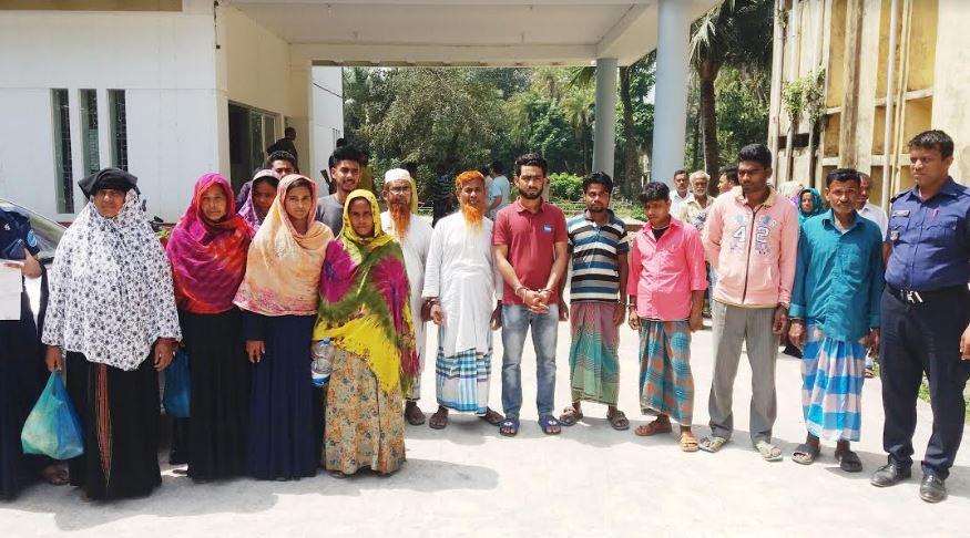 নবাবগঞ্জে পরোয়ানাভুক্ত ১৪ আসামী গ্রেপ্তার