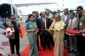 ফিতা কেটে 'রাজহংস' উদ্বোধন করলেন প্রধানমন্ত্রী