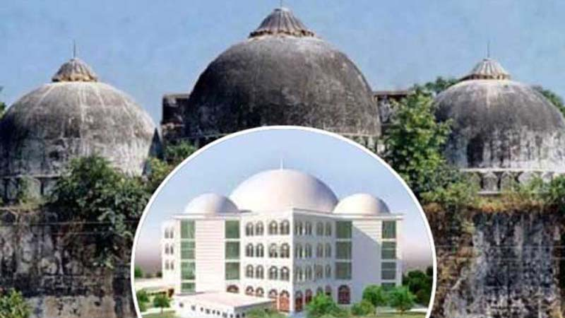 ঢাকার কেরানীগঞ্জে নির্মাণ হচ্ছে বাবরি মসজিদ