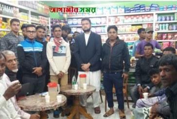 জগন্নাথপুরে সম্ভাব্য উপজেলা চেয়ারম্যান পদ প্রার্থী তালহার কোশল বিনিময়