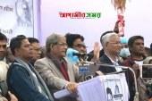 দিনাজপুরে মেয়র প্রার্থীর ভোট চাইলেন মির্জা ফখরুল
