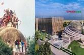 পতাকা উড়িয়ে অযোধ্যায় মসজিদ নির্মাণকাজ শুরু