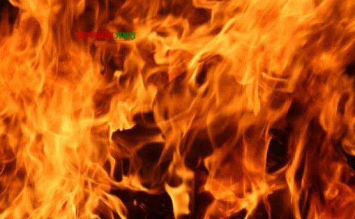 জগন্নাথপুরে ভয়াবহ অগ্নিকাণ্ড, প্রায় দুই লাখ টাকার ক্ষয়ক্ষতি